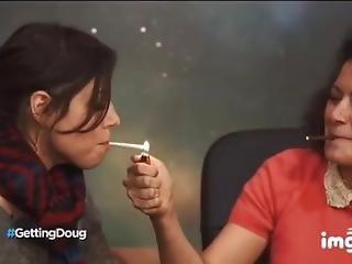 beroemdheid, fetish, roken