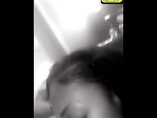 Ebony Lesbians Licking Pussy On Snapchat @slimvelvet