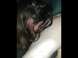Neighbor Sucking My Cock