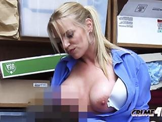 Female Mall Cop Makes Teen Dude Strip Down To Be Searched
