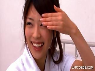 Japanese Student Rubbing Quim