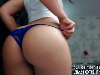 Hot Camgirl Showing Her Great Ass