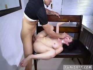 Girl Spanking Guy And Hardcore Ass Eating When A Stranger Calls