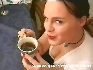 Queeny Love - Coffee And Cum