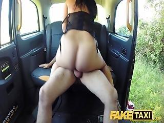 cul, bonasse, européenne, percée, chatte, sexy, taxi