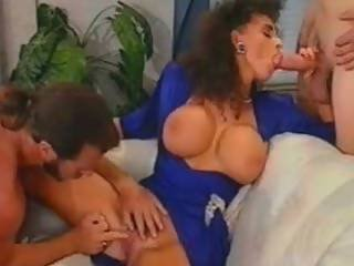Sarah Young Does Two Cocks