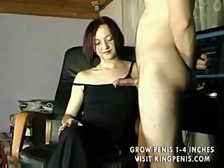 Wife handjob swinger