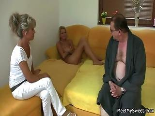 She Rides Her Bf Dad S Cock