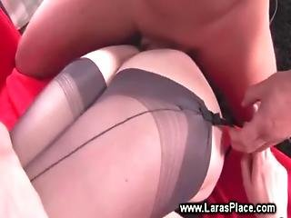 Mature In Lingerie Gets Ravaged