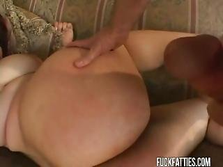 Redhead Bbw With Fat Ass Hardcore Fucked