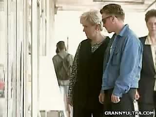 Blond Granny Fucked