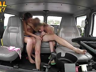 Beach Babes Bargain With The Tow Truck Driver And Get Fucked