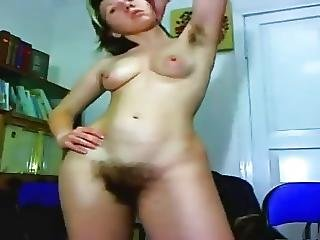 Very Hairy Armpits And Pussy Webcam Vollhaarfotzi