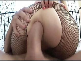 Extreme Anal For Fishnet Russian Teen