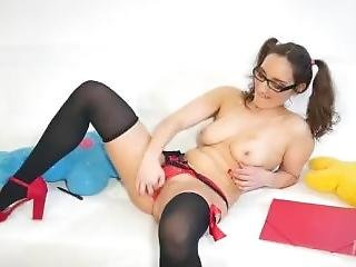 Portuguese Teen Started As A Nerd But Finished As A Slut