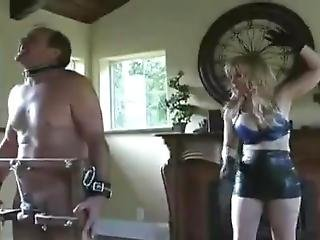Femdom Caning And Cock Whipping