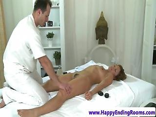 Brunette Massage Lover Pussy Fingered
