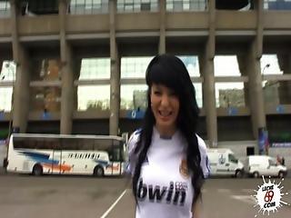 Real Madrid Girl Fanatic A Fan Of Galatasaray Fucks