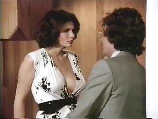 Veronica Hart, Lisa De Leeuw, John Alderman In Classic Porn Clip