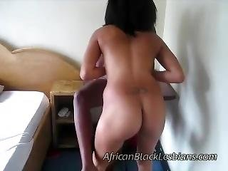 Beautiful Big Booty African Babe And Plump Lezzie In Homemade