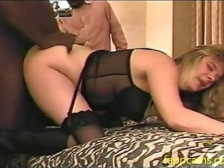 Amateur Young White Couple And Her Bbc Comp