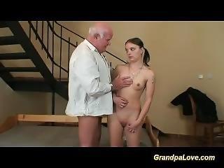 Grandpa Fucks A Young Teen