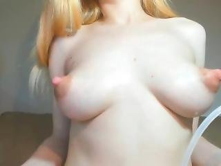 Milking Large Full Tits. Puffy Nipples, Milk Gorged Petite