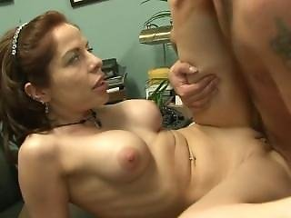 Big Tit, Brunette, Desk, Mature, Secretary, Sex