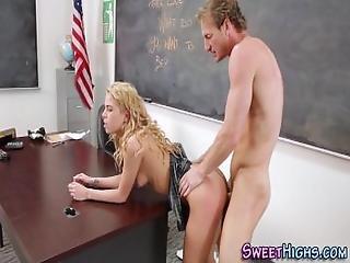 Highschool Teen Cum Mouth