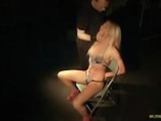 Punished Kiara Lord learning bondage good behavior