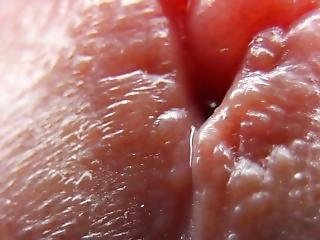 Extreme Close Up Cock Cumming