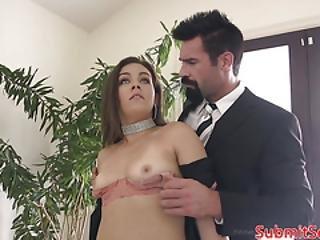 anaal, bdsm, bondage, deepthroat, dominantie, fetish, maledom, missionaris, ruw, sex, kous, onderdanig
