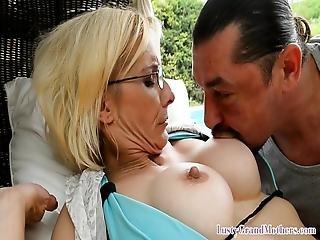 Bigtits Grandma Getting Her Ass Slammed