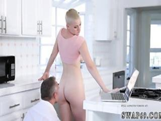Teen Takes Huge Dick And Hot Blonde Big Boobs Cutely Alterations Pt. 2