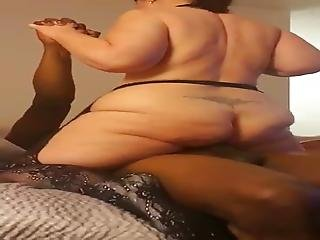 Fat Co Worker Riding Bbc