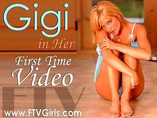 Gigi Playing In A Public Elevator