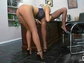 Lesbians In Pantyhose And Stockings Compilation