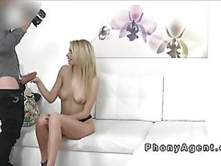 Beautiful Skinny Blonde Model Fucks