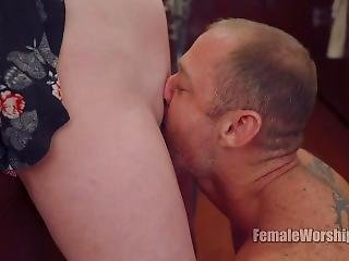 [femaleworship]-youre Almost Done With Your Task