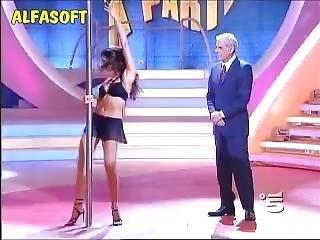 Hot Wife Pole Dance