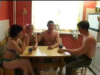 ejaculatie, neuken, groepsex, mager, jong