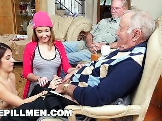 Blue Pill Men - Old Men Living Their Best Life With Gigi Flamez And Sally