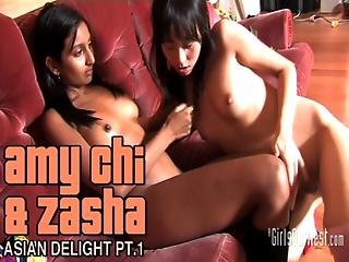 Chinese And Indian Lesbians Pt.1