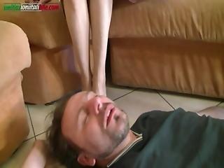 Ui032-mainteinance Works- Foot Fetish Domination