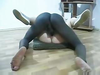 Big Black Cock Fuck A Little Blonde Pussy