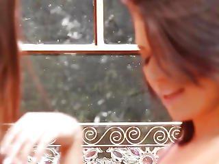 Breasty Sappho Facesitting Les Honey Outdoors