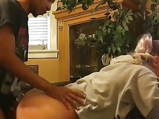 19yr Old Booty Coed Fucking Black Boyfriend At Parents House