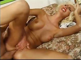 Good Looking Blonde Painful Anal
