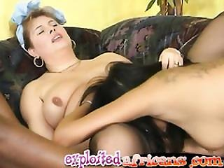 Three Perverse Lesbians Exploit Pussies With Fists And Large Dildos