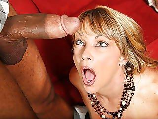 Hot Cougar Shayla Laveaux Takes Black Cock